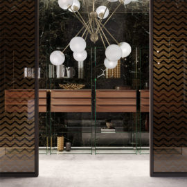 Cangini_e_Tucci.scarlett.brass.chandelier.blown.glass.design