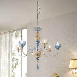 Color.canginietucci.chandelier.blown.glass.made.in.italy.1