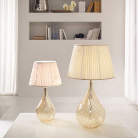 .lamp.light.blownglass.table.lamp.design.shade